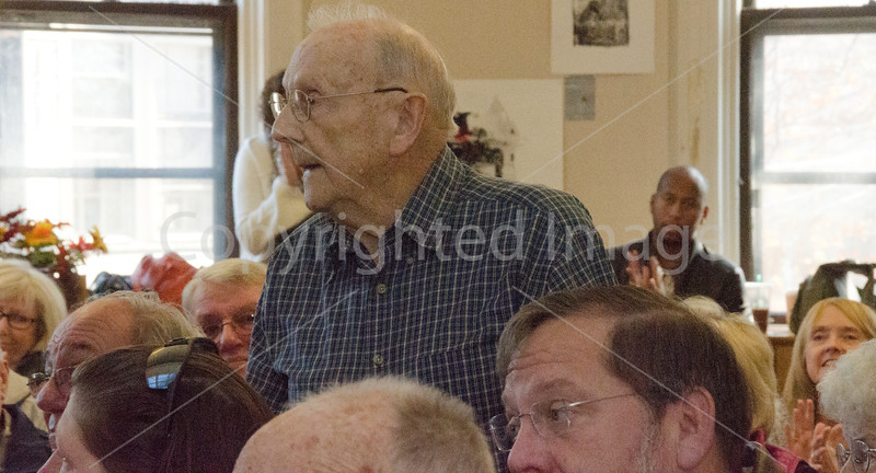 WWII Veteran Charles (last name sounds like Kowalsla?)