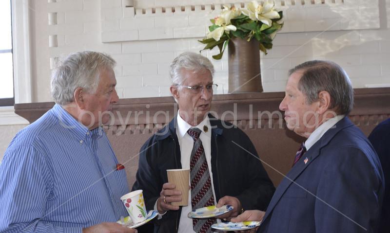Bob Hughes, Don Green, and Ron Ricci