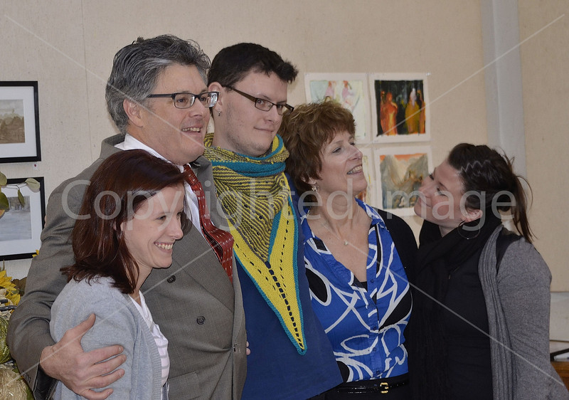 Dennis Lyddy with family