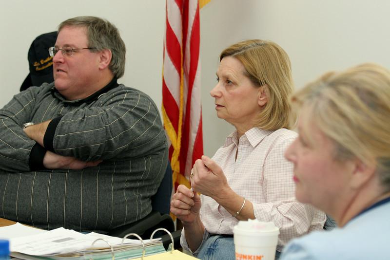 Tim Braggan, Debbie Ricci, and Terry Mead