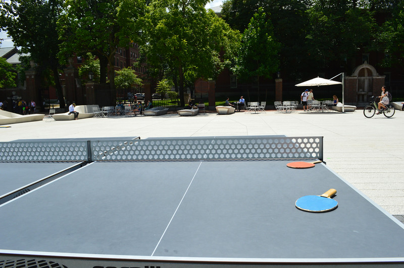 Ping Pong in Harvard