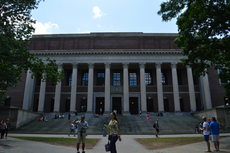 Harry Elkins Widener Memorial Library