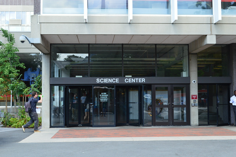 Science Center Entrance
