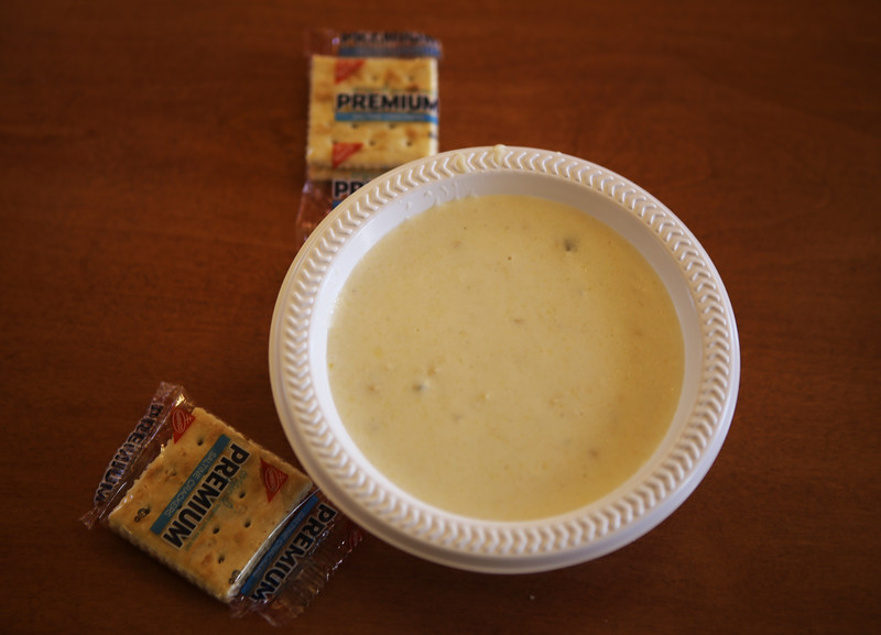 New England Clam Chowder in Kirkland Dining Hall