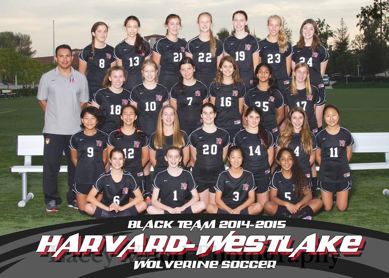 HW Soccer Girls Black Team 5x7 2014