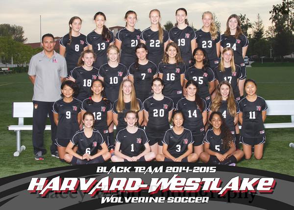 HW Girls Soccer Black Team