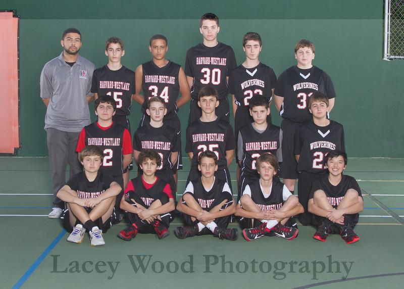 HW Boys Basketball Red Team