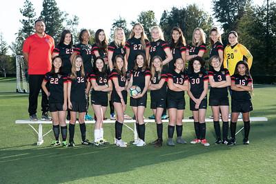 HW Soccer Girls Black Team 2018-19
