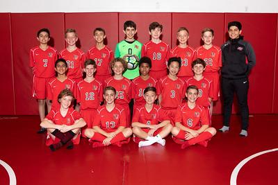 HW Soccer Boys Red Team 2018-19