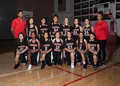 HW Basketball Girls MS Team 2018-19