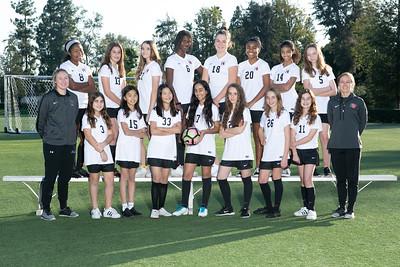 HW Soccer Girls Red Team 2018-2019