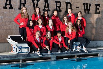 HW Water Polo Girls Varsity 2018-2019