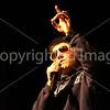 Mikey Brockmann preformes a Alphabet Aerobics rap for his preformance.
