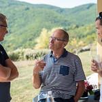 Pinot Noir grape harvest at Les Buis du Chardonnet Winery, Lieu Dit, Cogny, Beaujolais, France on Saturday, September 21, 2019.