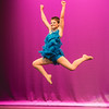 Harvest Homecoming Oustanding Teen contestant Gwynn Jenkins takes a massive leap during her dance routine.