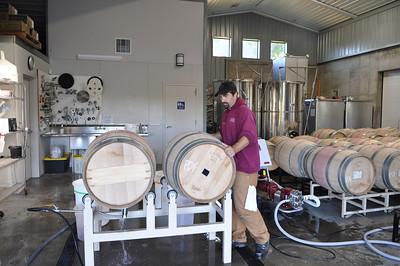Washing barrels