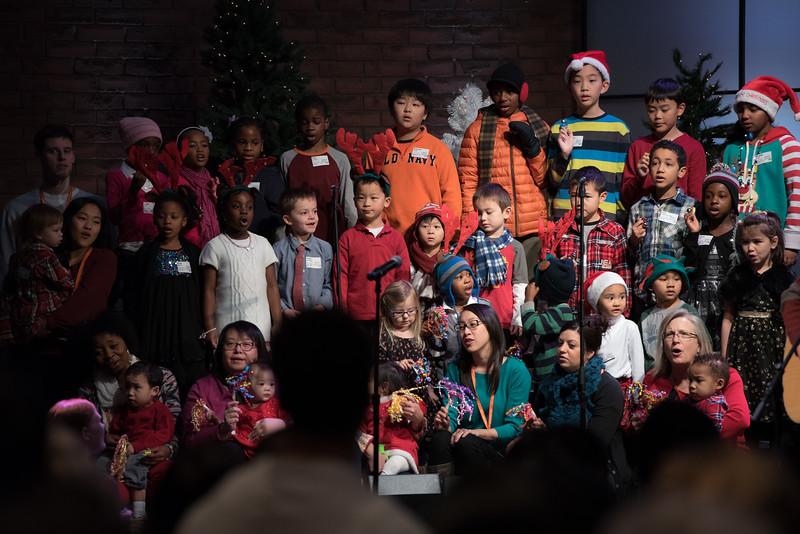 Christopher Luk 2014 - Harvest Bible Chapel York Region HBCYR - Christmas Children and Adult Choir - December 21, 2014 005