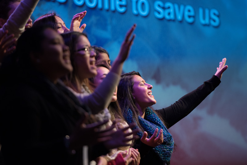 Christopher Luk 2014 - Harvest Bible Chapel York Region HBCYR - Christmas Children and Adult Choir - December 21, 2014 Highlights 007