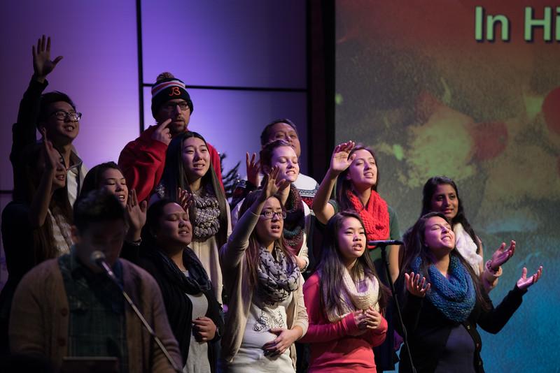 Christopher Luk 2014 - Harvest Bible Chapel York Region HBCYR - Christmas Children and Adult Choir - December 21, 2014 020