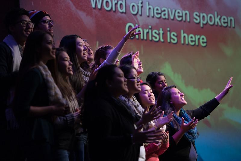 Christopher Luk 2014 - Harvest Bible Chapel York Region HBCYR - Christmas Children and Adult Choir - December 21, 2014 Highlights 015