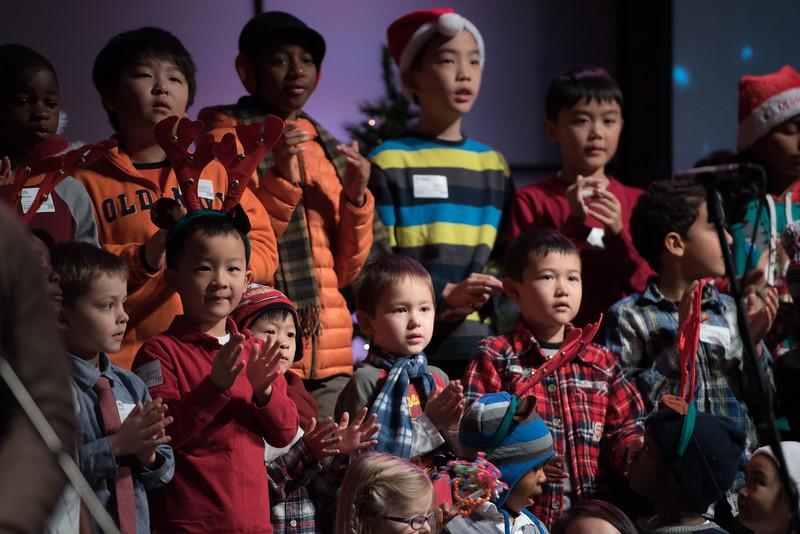 Christopher Luk 2014 - Harvest Bible Chapel York Region HBCYR - Christmas Children and Adult Choir - December 21, 2014 008