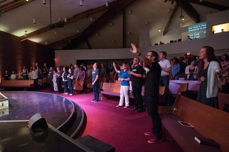 Christopher Luk 2014 - Harvest Bible Chapel York Region - HBCYR We The Church September Sunday Ministry Launch Weekend 009