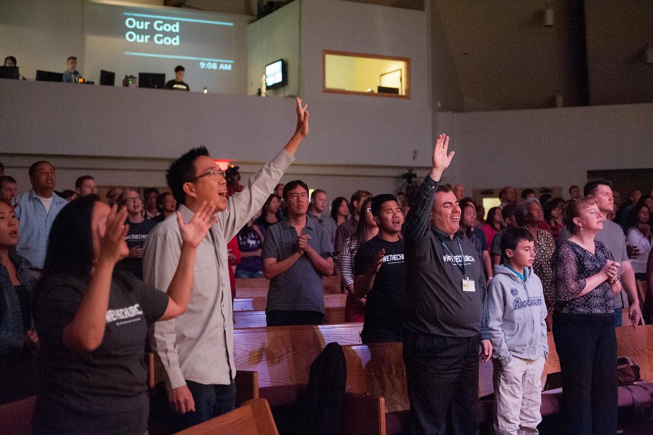 Christopher Luk 2014 - Harvest Bible Chapel York Region - HBCYR We The Church September Sunday Ministry Launch Weekend 014