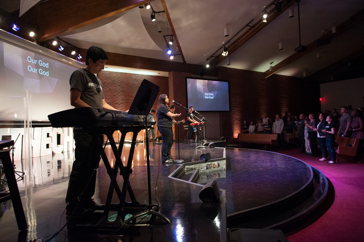 Christopher Luk 2014 - Harvest Bible Chapel York Region - HBCYR We The Church September Sunday Ministry Launch Weekend 008