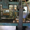 """Harvey Price, 93, talked about making cider for 80 years. Called a """"legendary beverage in Lunenburg"""" he makes it with a press that is over 100 years old. This is the over 100 year old press he still uses. SENTINEL & ENTERPRISE/JOHN LOVE"""