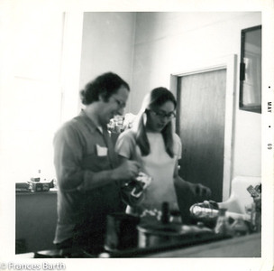 Harvey and Frances in the kitchen_74 Grand St.