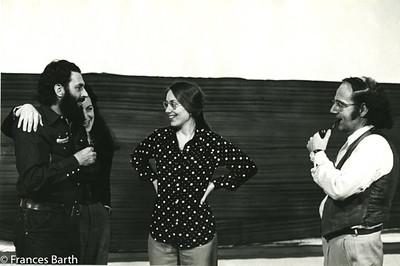 Bill and Francesca Alpert, Frances Barth and Harvey Q