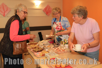 Coffee morning, Harwich & District Fellowship for the Sick.