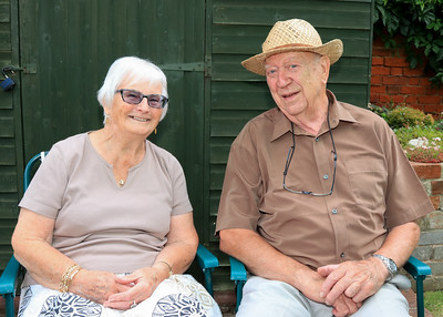 06 JUL 2019 – Harwich Secret Gardens – West Street – Gardener, Barbara and Ron Dale - Photo Copyright © Maria Fowler 2019