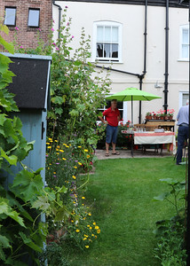 06 JUL 2019 – Harwich Secret Gardens – Church Street – Gardeners, David & Harriet Laing - Photo Copyright © Maria Fowler 2019
