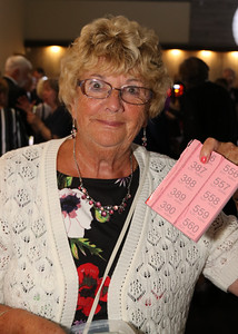 05 OCT 2019 – PICTURED: Marjorie Box - The Harwich Society's 50th Anniversary Dinner at the Waterfront, Dovercourt – Photo Copyright © Maria Fowler 2019