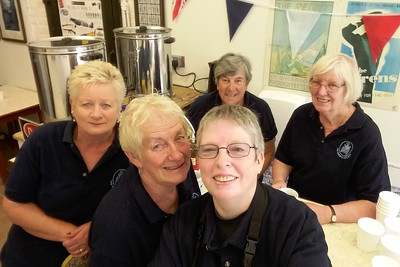 The Canteen - Rose Rozier, Anna Rendell-Knights, Maria Fowler, Janet Thomas and Chris Mackie.