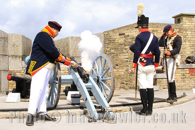 No.4 Battery - Kings German Artillery at the Harwich Redoubt Military Festival