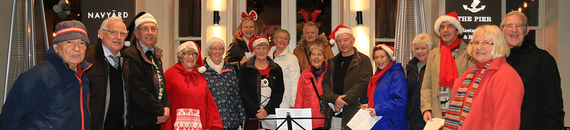 Gallery cover Harwich Society Charity Carol Singing 2016