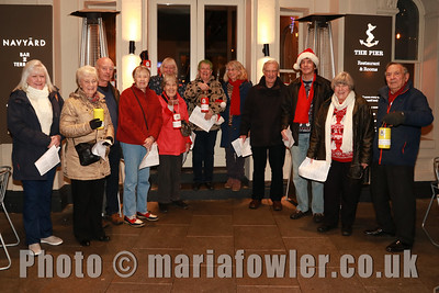 Harwich Society Charity Carol Singing 2017 - Proceeds to the Electric Palace Restoration Fund