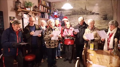 VIDEO: Harwich Society Charity Carol Singing 2017 - Proceeds to the Electric Palace Restoration Fund