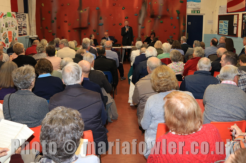 Press release - Packed AGM for Harwich Society