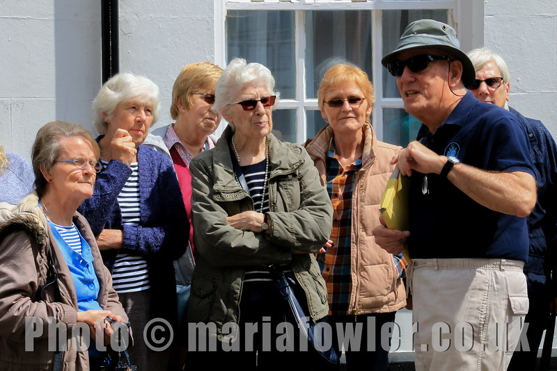 History lovers make long journey to visit Harwich