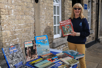 12 SEP 2020 – Pictured: Christine Shaw (Harwich Society volunteer) - Harwich Redoubt Fort – Heritage Open Days – Photo Copyright © Maria Fowler 2020