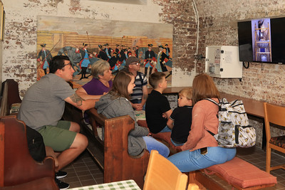 12 SEP 2020 – Hunter family - Redoubt Slideshow - Harwich Redoubt Fort – Heritage Open Days – Photo Copyright © Maria Fowler 2020