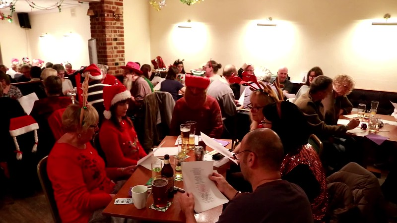 'Fairytale of New York' - Sing-along - Harwich Society Christmas Quiz Night 2018