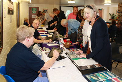 14 OCT 2018 - Harwich Society History Fair 2018 - The 1912 Centre – Harwich – Photo © Maria Fowler 2018