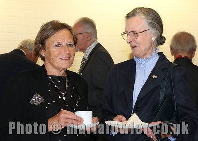 18 OCT 2019 - PICTURED: The Rt. Hon. Baroness Anne Jenkin of Kennington and Lady Primrose Lewis - Harwich Society 50th Anniversary Civic Service – Photo Copyright © Maria Fowler 2019