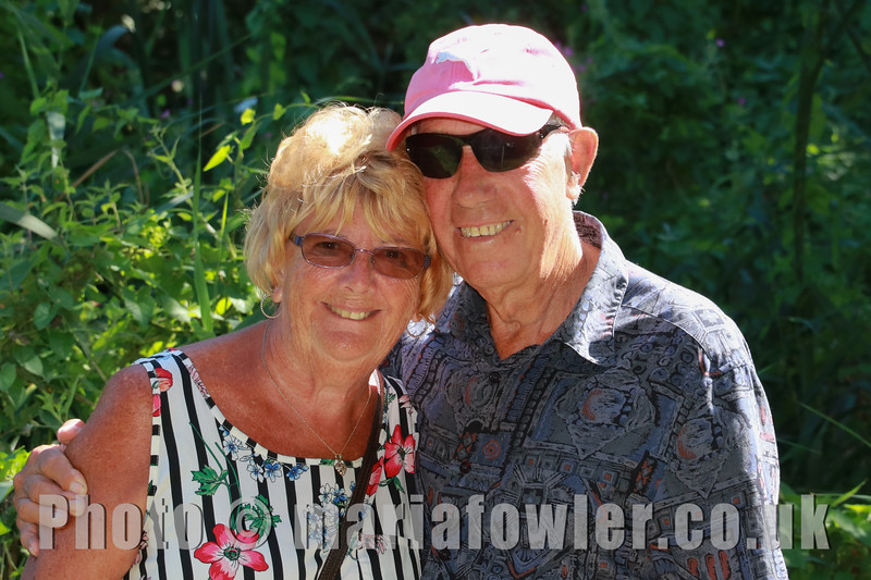 05 AUG 2018 – Marjorie Box and Stan Box - Harwich Society Bobbit's Hole Open Day and Charity Stroll - Photo Copyright © Maria Fowler 2018