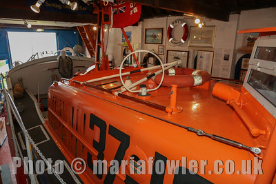 Inside Harwich Lifeboat Museum