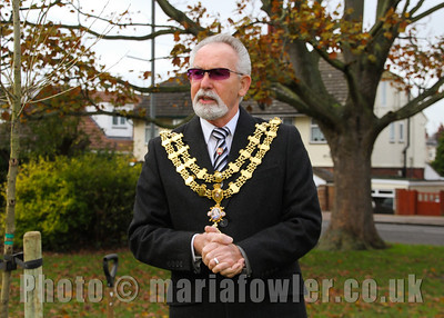 Mayor of Harwich Cllr. Dave McLeod